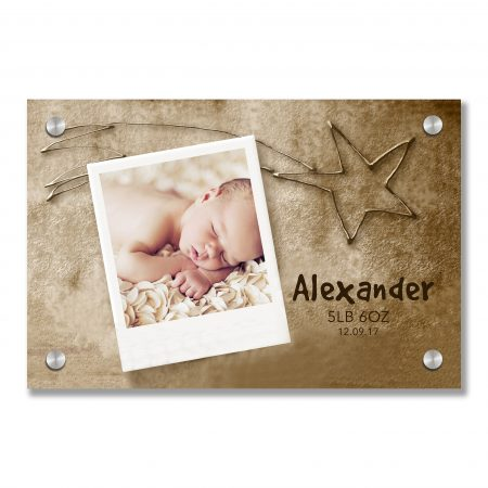 Christmas Card photo frame star of Bethlehem