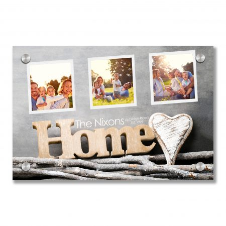 Home. Sweet home. Interior decor. Rustic heart.