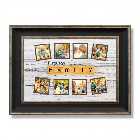 family word concept. family Word Written In Wooden Cube