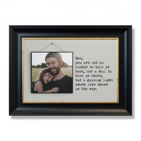 slim square blank photo frame on screw composition black and whi