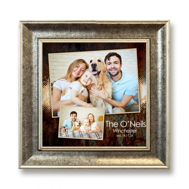 Family Square Photoboard 21
