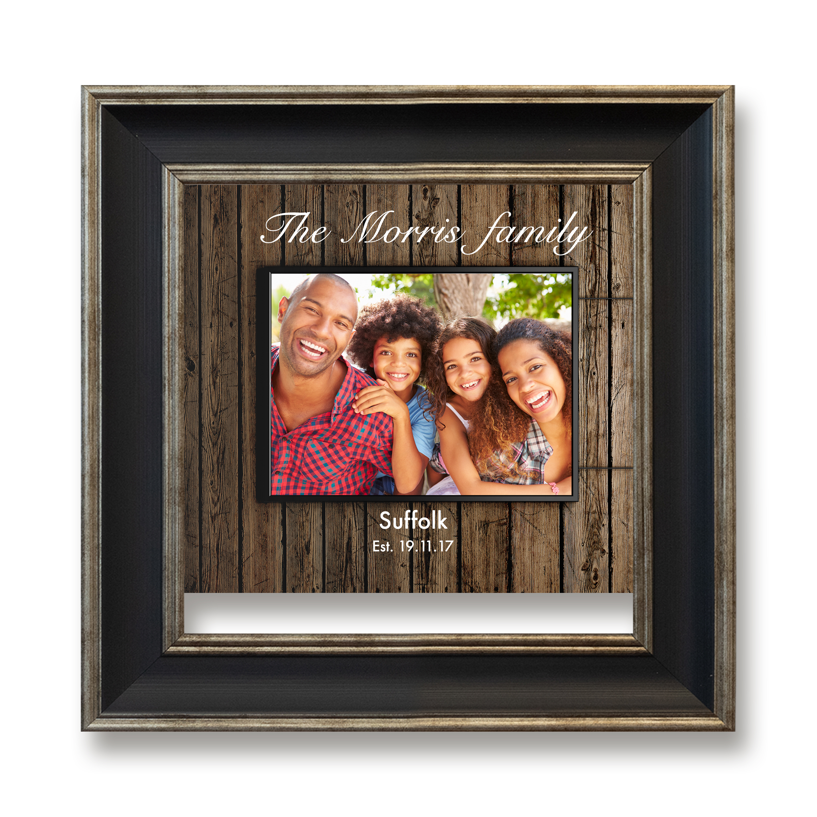 Family Square Photoboard 27