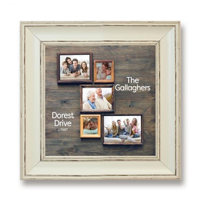 Family Square Photoboard 28