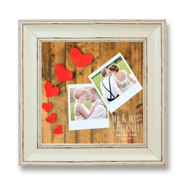 Wedding Square Photoboard 01