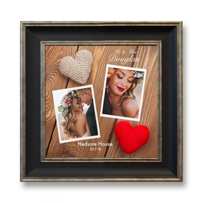 Wedding Square Photoboard 02