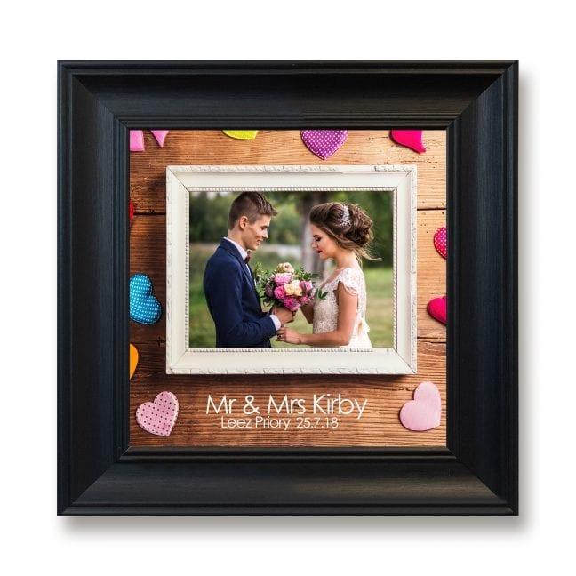 Wedding Square Photoboard 05