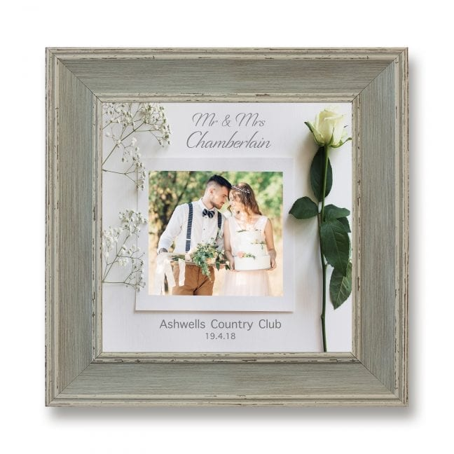 Wedding Square Photoboard 06