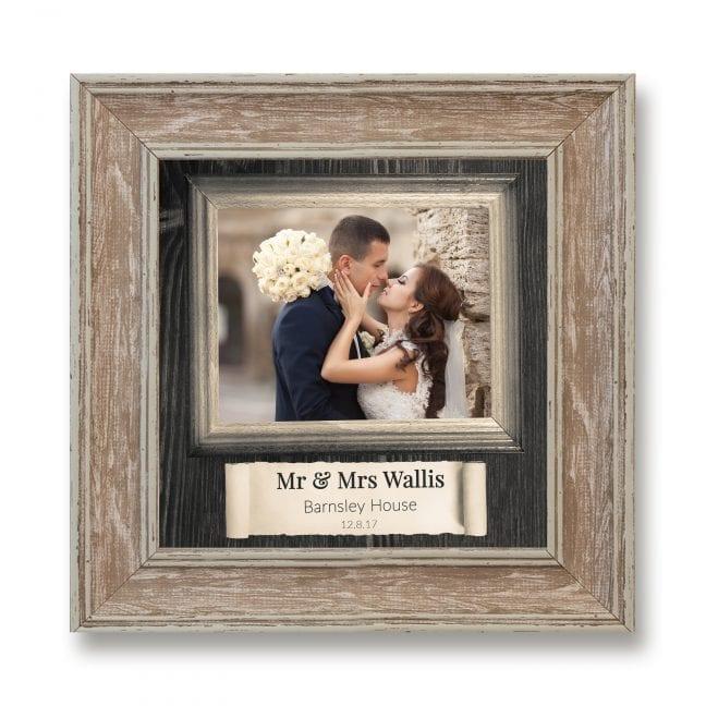 Wedding Square Photoboard 07