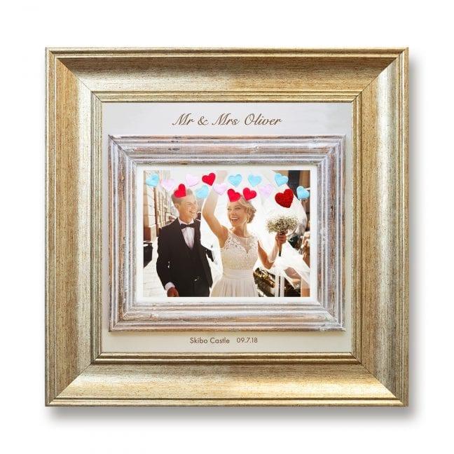 Wedding Square Photoboard 09