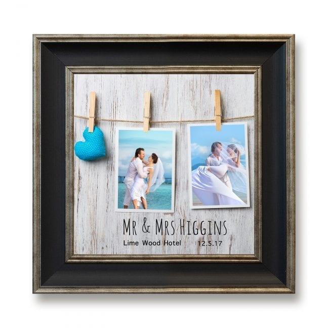 Wedding Square Photoboard 10