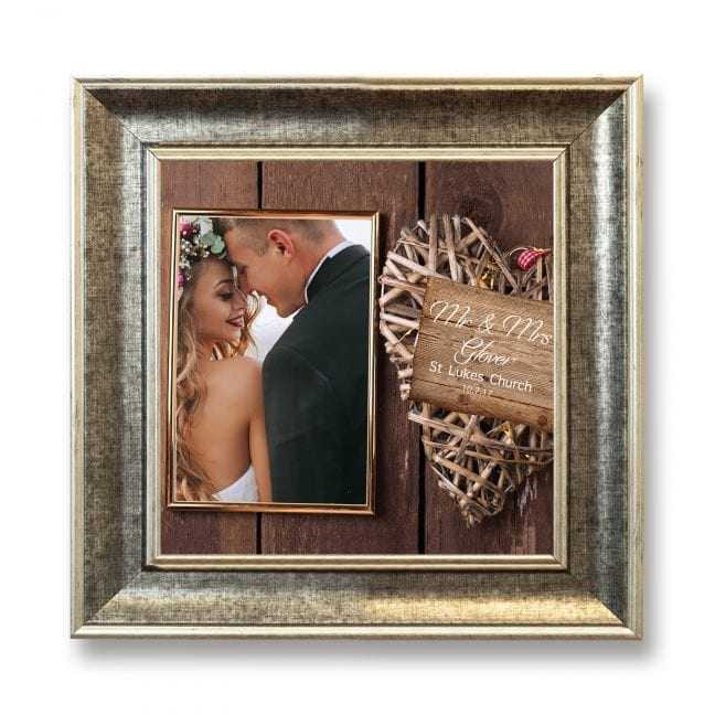 Wedding Square Photoboard 12