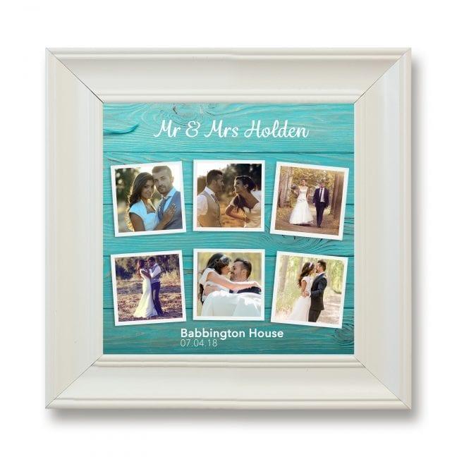 Wedding Square Photoboard 14