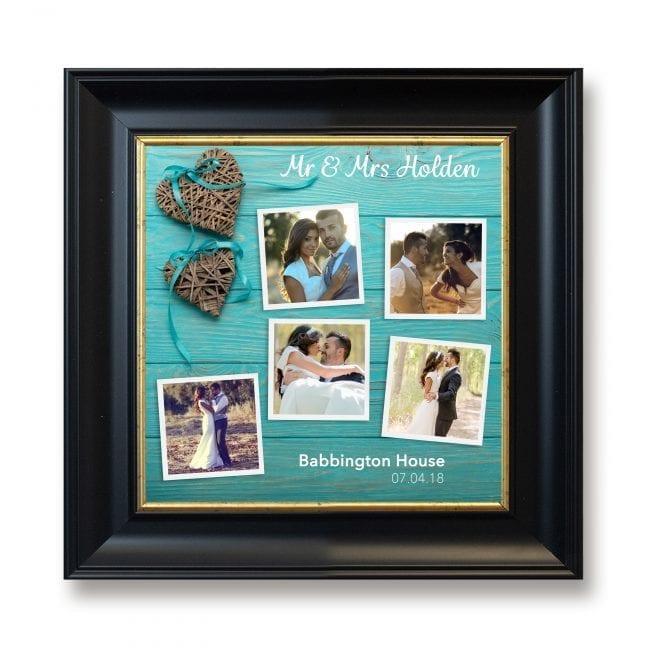 Wedding Square Photoboard 15