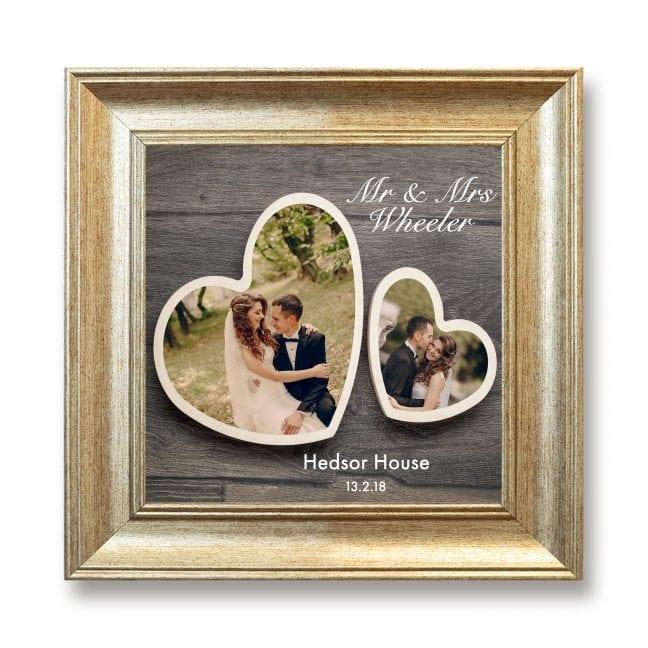 Wedding Square Photoboard 16