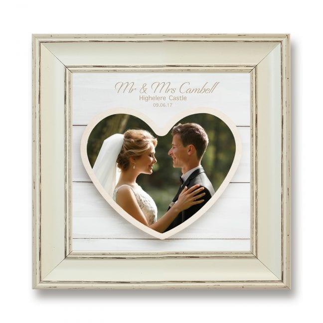 Wedding Square Photoboard 17