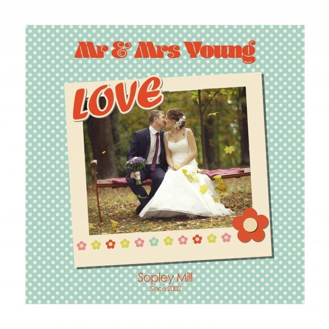 Wedding Square Photoboard 19