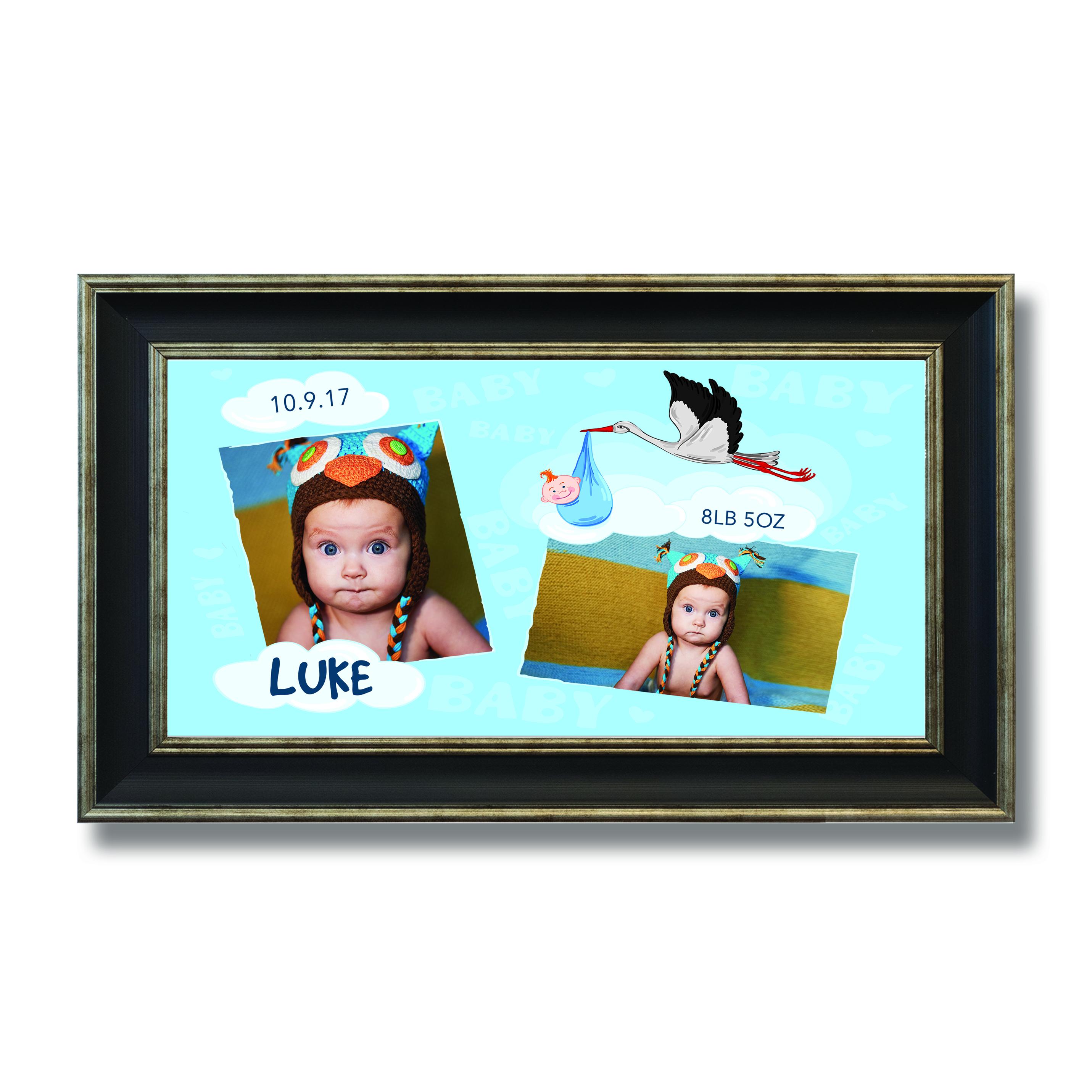Baby Wide Photoboard 10