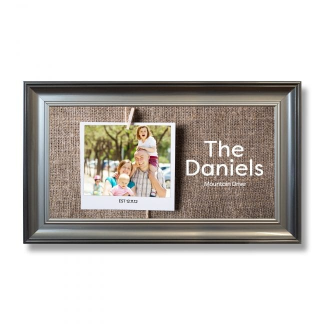 Family Wide Photoboard 16