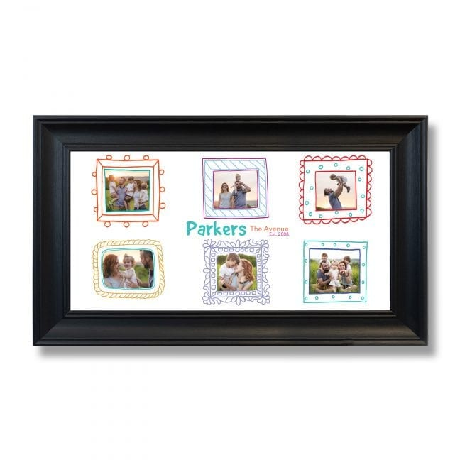 Family Wide Photoboard 17