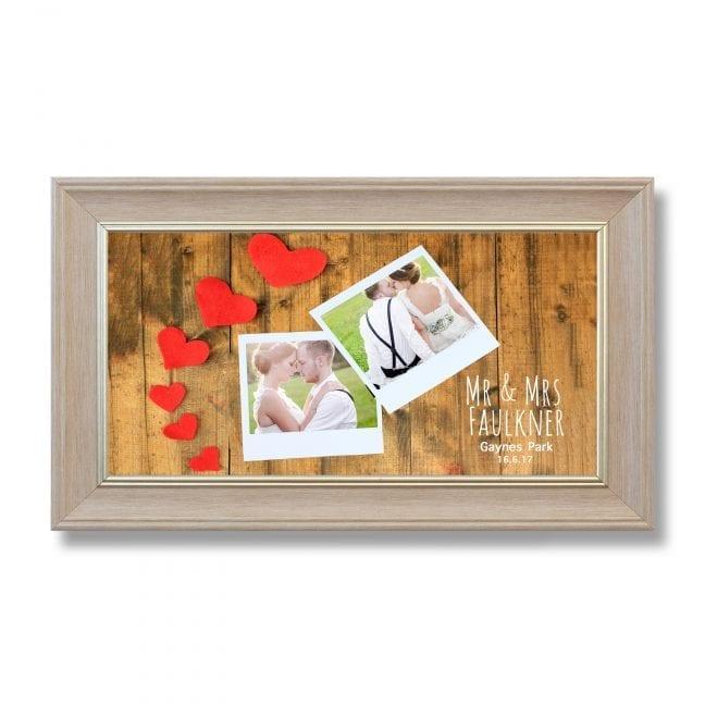 Wedding Wide Photoboard 01