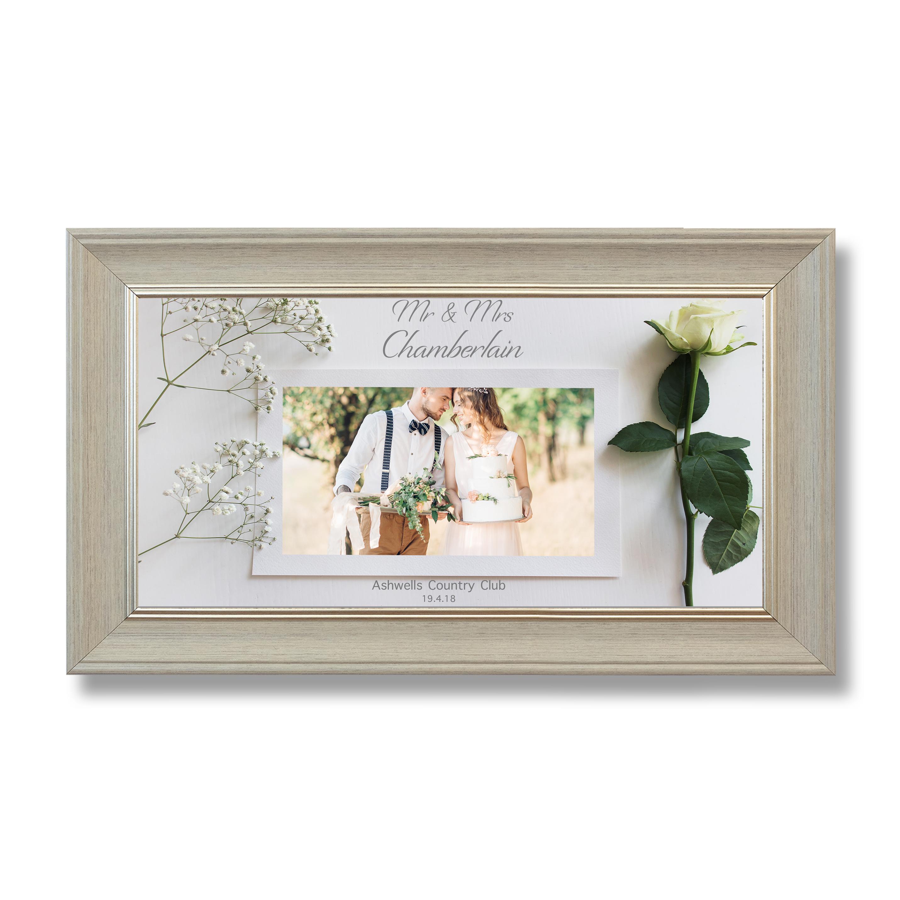 Wedding Wide Photoboard 04